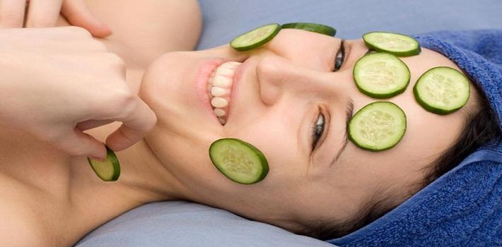 Soins de visage naturel
